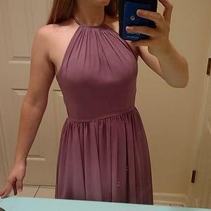 Azazie Kailyn in Wisteria Bridesmaid Dress